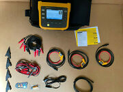 New Fluke 1730 Three-phase Power Logger W/ 3x 1500a Iflex Current Probes And More