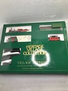 Dept. 56 Heritage Christmas Village Express Ho Scale Train And Track Set.