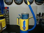 Nice Old Vintage Flex Spout Can Done In Richfield Motor Oil Theme Restored