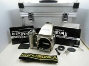 [15439om] Bronica Etr Si Ae-iii Speed Grip 40th Anniversary Model With Case