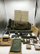 Wwii Paratrooper Signal Lamp M227 And Accessories Unissued
