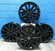 4 Oem Ford Expedition 2018-2020 Black 12 Spoke Aluminum Rims 20x8.5 Aly10144