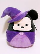 Squishmallows Official Disney Halloween 12 Minnie The Witch Plush Doll Toy