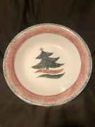 Gibson Housewares Everyday In The Christmas Tree Star Large Serving/pasta Bowl