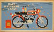 Dave Matthews Band Poster 2012 Chicago United Center Numbered /815 Rare