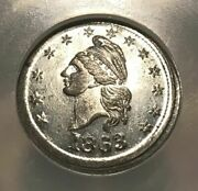 Civil War Token Fuld 1/360e R-7 Ngc Ms-65 - Very Rare And Tied For Finest Known