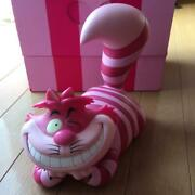 Used Disney Span Of Sunset Alice In Wonderland Cheshire Cat Figure With Box