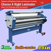Upgraded 55 Entry Level Full-auto Heat Assisted Wide Format Cold Laminator