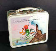 Ludwig Von Drake 1961 Disney Lunchbox And Thermos
