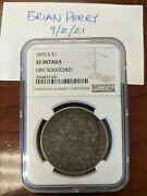 1895-s 1 Morgan Silver Dollar Ngc Xf Details San Francisco Mint Key Date And Mint