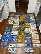 Collection Of Vintage Maryland License Plates 1956-1980s 36 Pairs