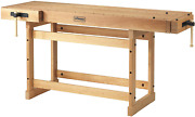 Sjandoumlbergs Woodworkers Cabinetmaking Scandi Plus 1825 Work Bench With Two Large Vi