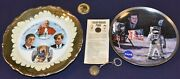 Kennedy Collectibles Plates Campaign Button Key Ring Lincoln Kennedy Penny