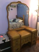 Antique Bedroom Furniture 1940andrsquos Waterfall