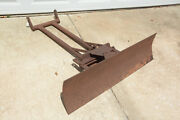 Gibson Model D Tractor Front 6 Way Blade Attachment Implement Bulldozer Dozer
