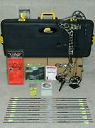 Loaded Mathews Halon 5 Bow Package- Most Dl Av- 50 To 60 Lb- Lost Xd Camo