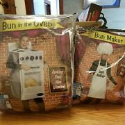 Couples Bun In The Oven And Maker Costumes Funny Adult Maternity Halloween Guc