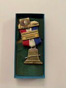1975 North South Civil War Reenactment Musket Team 5th Medal Confederate Union