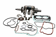 Wiseco Complete Bottom End Rebuild Kit Crank Rods Bearings Gaskets Wpc223b