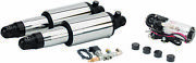 Arnott Chrome Ultimate Ride Adjustable Air Suspension System For V-twins Mc-2905