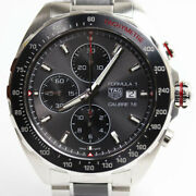Tag Heuer F1 Chronograph Men's Watch Caliber 16 From Japan N0923