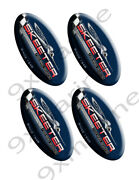 Four Skeeter Oem Oval Stickers. 5x2.5 Each For Boat Restoration Project