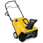 Gas Snow Blower 2 X 21 In. 179 Cc Single-stage Safety Key Electric Start Plastic