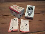 Vintage Hull Battery-lite Auto Compass No. 810 Battery Operated Light Up