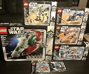 Lego Star Wars 20th Anniversary - Assorted Lot Of 7 Sets New Sealed
