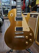 Used 1960 Gibson Les Paul Classic Bullion Gold Electric Guitar With Hard Case