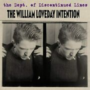 The William Loveday - The Dept. Of Discontinued Lines - Cd.. - C3447c