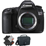 Canon Eos 5ds R Dslr Camera Body Only + Deluxe Accessories Bundle