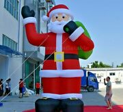 20ft Giant Inflatable Santa Clause Christmas Yard Decoration Airblown Outdoor