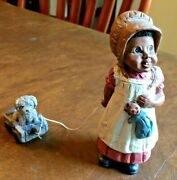 Martha Holcombe All Godand039s Children Figurine Bonnie And Buttons1987133stamped
