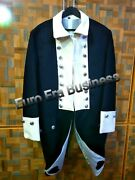 American Revolutionary War Continental Infantry Officer Frock Coat In All Sizes