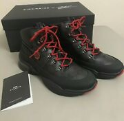 Nwt Coach X Mbj Naruto Hiker Boots Size 13d. Limited Edition. Rare. 1 Of 7 Made.
