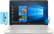 Hp 15t-dw300 Home And And Business Natural Silver Laptop Intel I7-1165g7 4-core 16