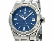 Wristwatch Maurice Lacroix Ai6007-ss002-430-1 Men Blue Dial Automatic Used