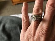 Beautiful Wedding Ring Set. Excellent Condition, Paid 5000 Three Years Ago.