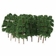 Lots 20 1150 Scale Model Abies Holophylla Trees For Train Sandtable Scenery