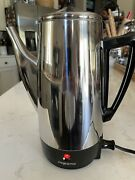 Presto Percolator 12 Cup Stainless Steel Electric