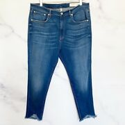 Rag And Bone Nwt High Rise Ankle Skinny Lenox Women's Plus Jeans 250 Size 36