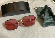 Rare Oliver Peoples Op523 Famous Fight Club Sunglasses -brad Pitt/tyler Durden
