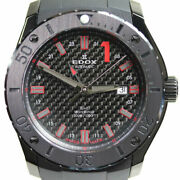 Edox Chrono Offshore 1 Gmt 93005-37n-nro Mens Watch From Japan N0925