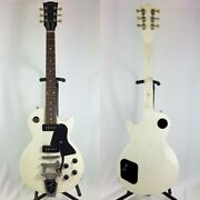 Electric Guitar Gibson Les Paul Jr Used White 6 String Right-handed Solid