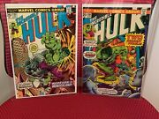 Marvel Comics The Incredible Hulk Lot Of 2 195 And 196 Nm 9.0-9.2 Abomination