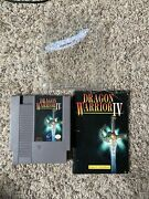 Dragon Warrior 4 Nes W/manual Authentic Tested