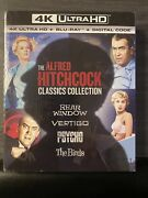 The Alfred Hitchock Classic Collection 4k Uhd + Blu-ray