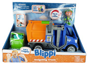 Blippi Recycling Truck Vehicle Lift Load Dump Makes Sounds W/figure New In Pkg
