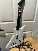 Guitar Hero Xplorer Xbox 360 Red Octane Wired With Usb Adapter Model 95055